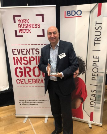 York Top 100 2019 - Global Reach Award - Cellhire