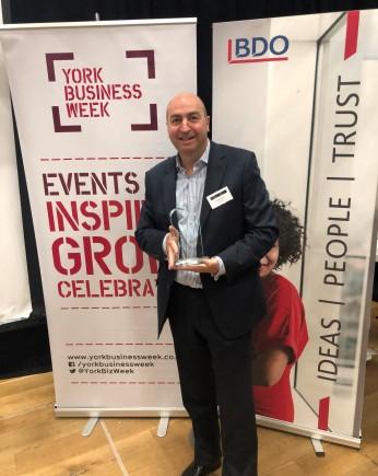 York Top 100 2019 - Global Reach Award - Cellhire